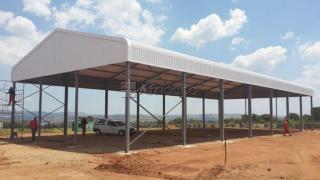 We build Farm Sheds Warehouses Tool sheds Aircraft Hangers and more