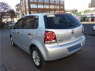 Grey 2014 polo vivo available for sale.