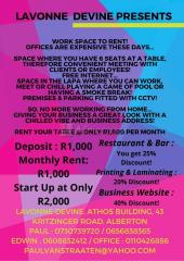 Workspace to Rent