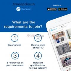 SweepSouth Connect Online Service Professionals!