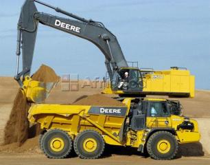 Friendly price for training in excavator,front end loader,dump truck