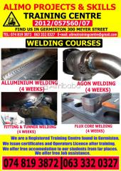 Folklifting machine training center and plumbing couses in germiston
