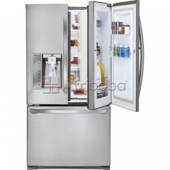 "Lg - door-in-door 28.6"" french door refrigerator"