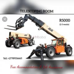 Telescoping boom operators training