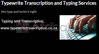 Transcription and Editing Services