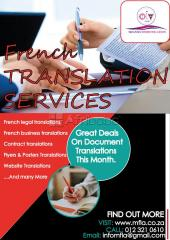 Sworn French Translation Services