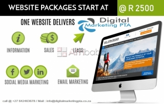 WordPress Website Development by Digital Marketing Pretoria #1