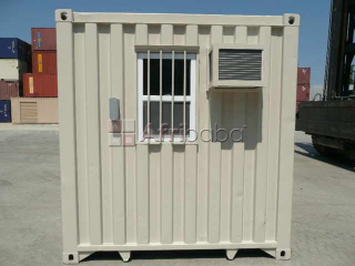 6-meter (20ft) portable office containers