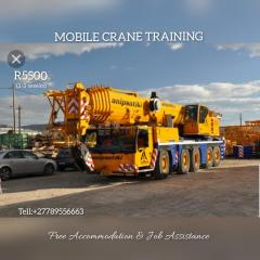 Mobile crane operators training in johanesburg