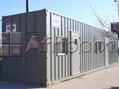 """6"""" meter (20ft) portable office containers"""