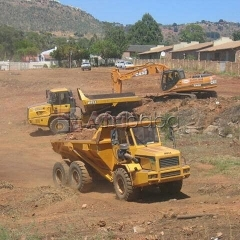 Excavator,dump truck,front end loader training school