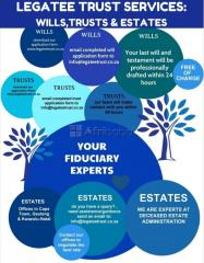 Will Drafting Services, Deceased Estate and Trust Administration