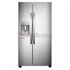Hisense - 700ltr side by side freezer fridge water & ice box