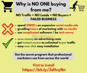 Software - Get instant buyer traffic to your website