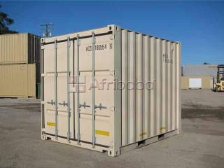 3- meter (10foot) storage / shipping container.