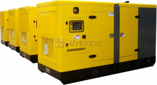 Perkins 15kva silent single=phase diesel generator