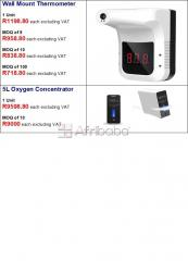 Oximeter medical & non-medical, thermometers & oxygen concentrators