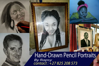 I am a pencil drawing artist and i can draw you