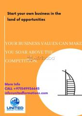 "Start your dream business in tax free haven "" dubai"""