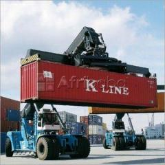 Super link,excavator,container lifter, training