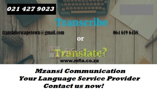 Spanish Transcription and Translation Services