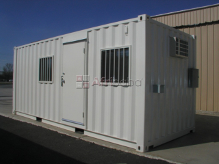 "6"" meter (20foot) portable office containers"