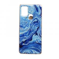 Samsung A21S Fancy Marble Effect Phone Covers