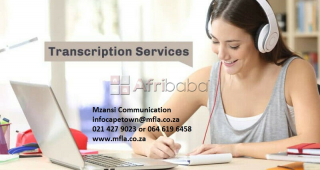 Transcription services in cape town