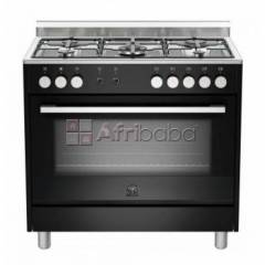 la germania europa 90cm gas hob/electric oven - black -