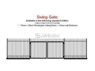 Manufacturers of steel palisade fencing and gates