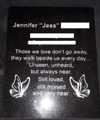 Tombstones Memorial Plaques and Engraving services