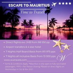Holiday to Mauritius