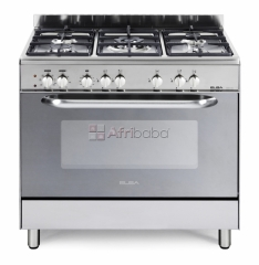 Elba 900mm 5 burner gas electric stove stainless steel - 01/9cx827