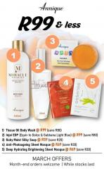 Selling Annique Products