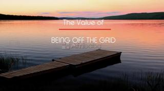 Being off the grid