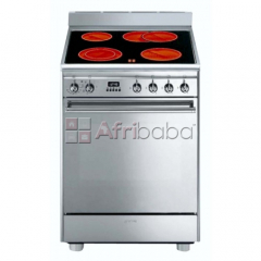 Smeg 60cm full electric concert cooker - cx68cm8