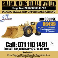 Lhd[scoop] training in bleskop mines ,rustenburg
