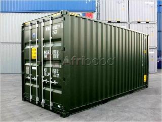 """New or used 6"""" meter (20ft) storage / shipping container."""