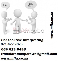 Consecutive Zulu Interpreters in Cape Town