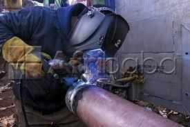 Pipe fitting training at macsteve training centre