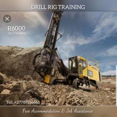 Drill rig trainig in mpumalang