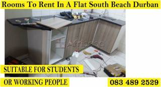 Rooms in a flats to rent durban south beach