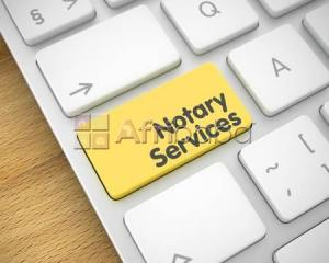 Notary republic services
