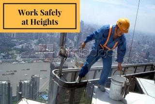 Working on heights safety training course at sa mining