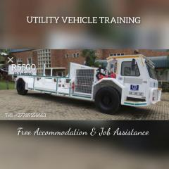 Utility vehicle raining in free state
