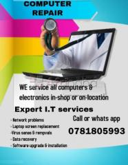 I.t technician/laptop screen replacement,we can also come to you.