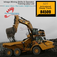Dump truck training machine in rustenburg