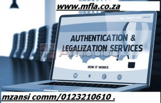 Document authentication services | kwazulu natal