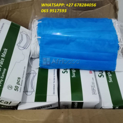 Anti-fog 3-ply/ kn 95 surgical masks