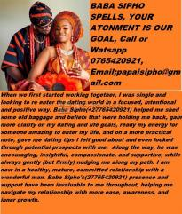 Lost love spells by baba sipho